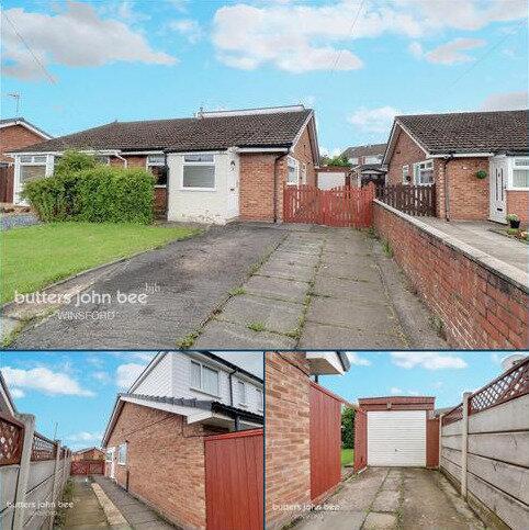3 bedroom semi-detached bungalow for sale - Nun House Drive, Winsford