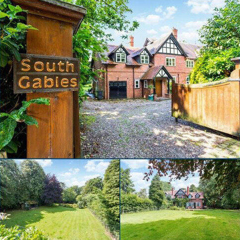 6 bedroom semi-detached house for sale - The Crescent, Hartford, Northwich, Cheshire, CW8