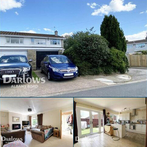 3 bedroom end of terrace house to rent - Cardiff