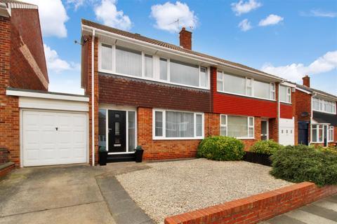 3 bedroom semi-detached house for sale - Malvern Road, Preston Grange, North Shields