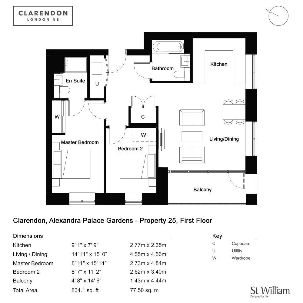 Floorplan: First Floor