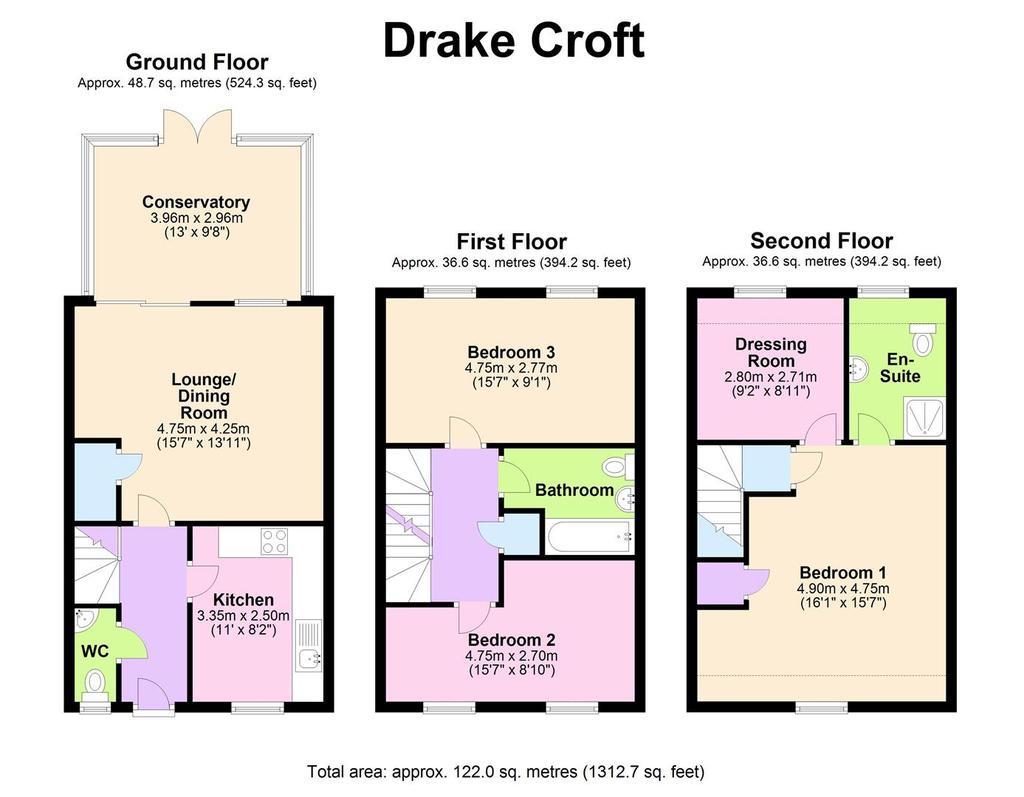 Floorplan: 17 Drake Croft   Floorplan (002).JPG