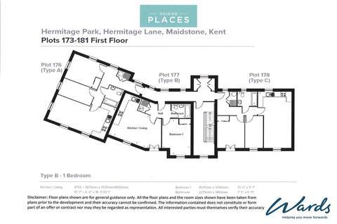 2 bedroom ground floor flat for sale - Caldecott Road, Maidstone, Kent