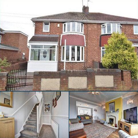 3 bedroom semi-detached house for sale - Torver Crescent, Seaburn