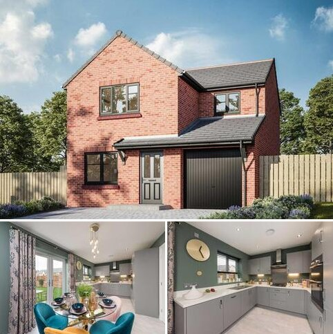 3 bedroom detached house for sale - Plot 19, The Maddison at Hallside, Off High Green, Darlington, County Durham DL3