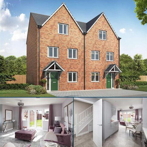 3 bedroom townhouse for sale - Plot 181, The Hancock at Olympia, York Road, Hall Green, West Midlands B28