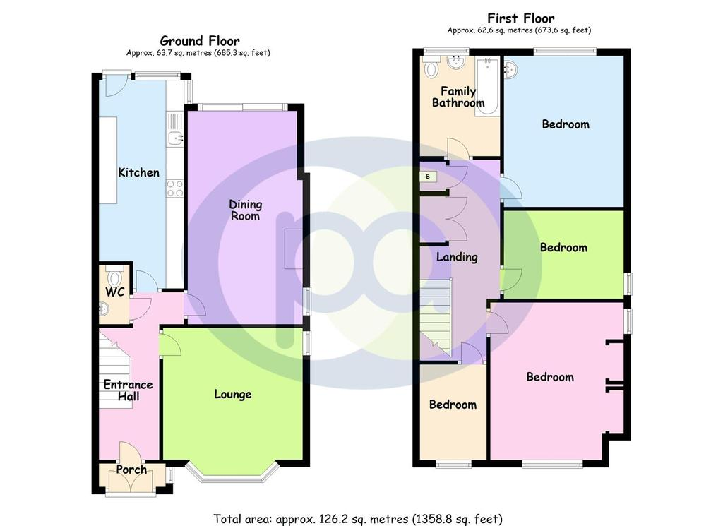Floorplan: William Bristow Road Floor Plan