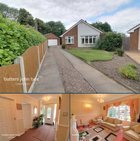3 bedroom detached bungalow for sale - Church Vale, Cannock