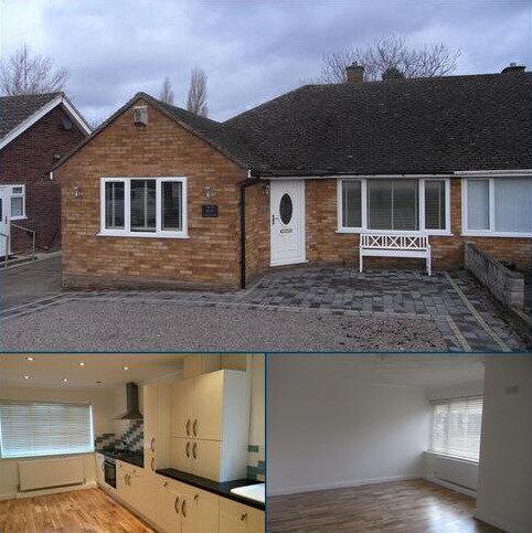 2 bedroom semi-detached bungalow to rent - Hillmorton Road, Four Oaks, Sutton Coldfield B74