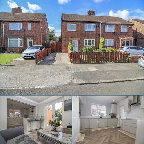 3 bedroom semi-detached house for sale - Taylor Avenue, Wideopen, Newcastle Upon Tyne