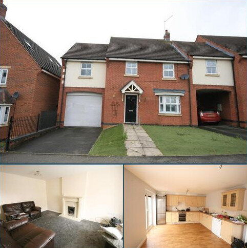 4 bedroom detached house to rent - Robinson Way, Wootton, Northampton, NN4