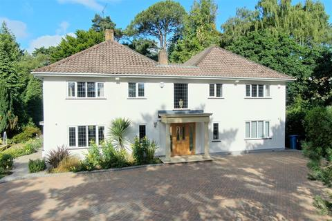 4 bedroom detached house for sale - De Mauley Road, Canford Cliffs