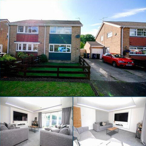 3 bedroom semi-detached house for sale - Lynton Place, Cragston Park, Blakelaw