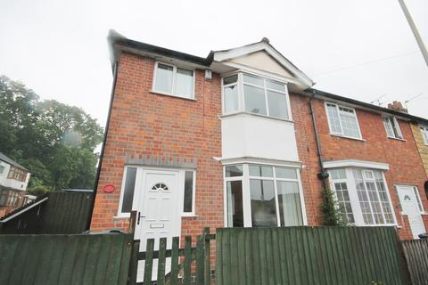 3 bedroom end of terrace house for sale - Carl Street, Leicester