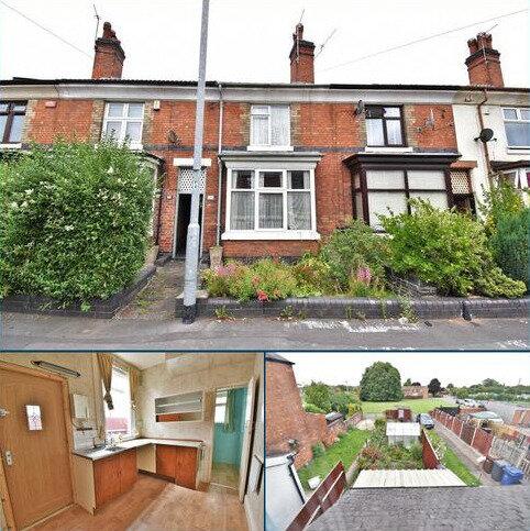 3 bedroom terraced house for sale - Belvedere Road, Burton-on-Trent
