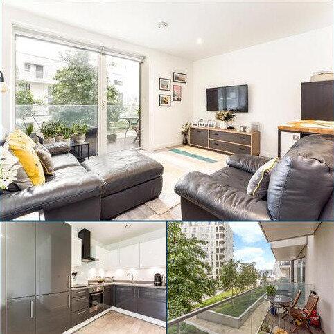 1 bedroom flat for sale - Chandlers Avenue, Greenwich, London, SE10