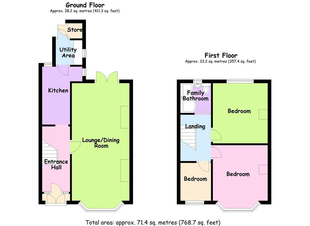 Floorplan: Purefoy Road Floor Plan