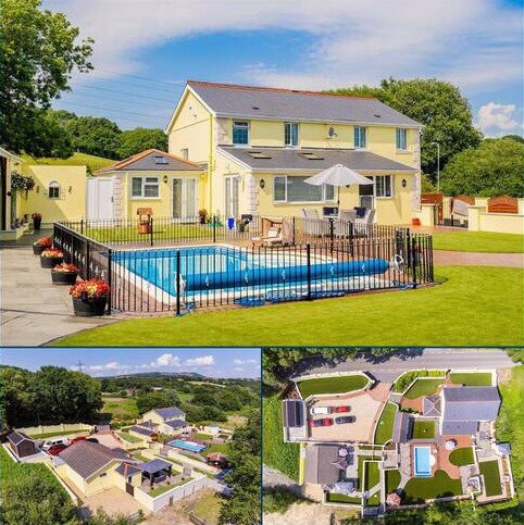 5 bedroom property with land for sale - Crymlyn Road, Lansamlet, Swansea