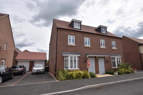 3 bedroom semi-detached house for sale - Lace Avenue, Loughborough