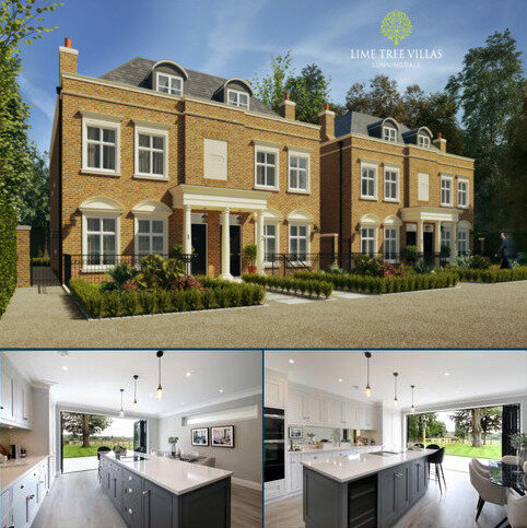 4 bedroom semi-detached house for sale - Lime Tree Villas, Sunningdale, Berkshire, SL5