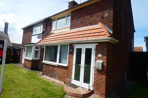 2 bedroom semi-detached house for sale - Millfield, Seaton Sluice, Whitley Bay, Northumberland, NE26 4DD