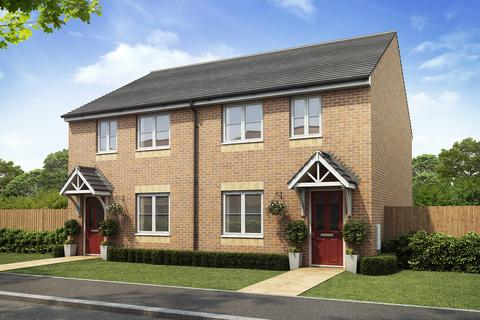 3 bedroom semi-detached house for sale - Plot 256, 3 Bedroom at Willowbrook Grange Phase 2, Jack Mills Way, Shavington, Crewe CW2