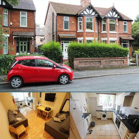 5 bedroom house to rent - Old Hall Lane, Fallowfield, M19