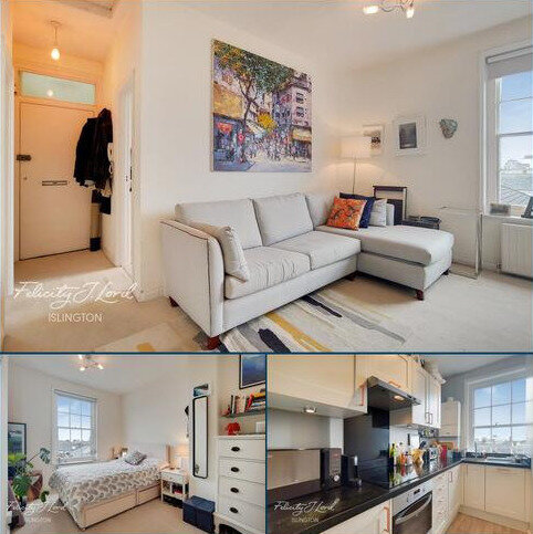 1 bedroom flat for sale - Fanshaw Street, London