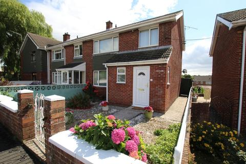 3 bedroom end of terrace house for sale - St Davids Road, Abergavenny, NP7
