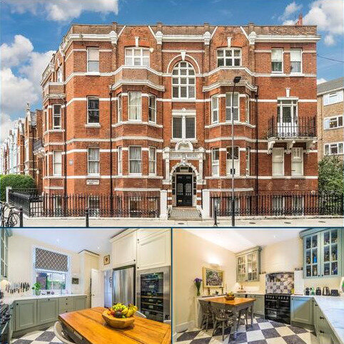3 bedroom flat for sale - Addison Park Mansions, Richmond Way, London, W14