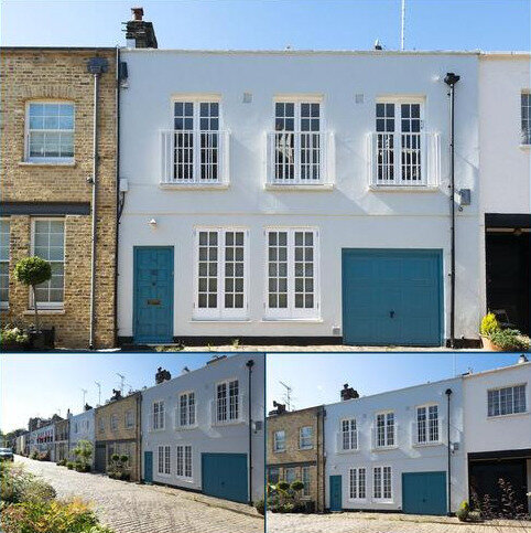 3 bedroom character property for sale - Hyde Park Gardens Mews, London, W2
