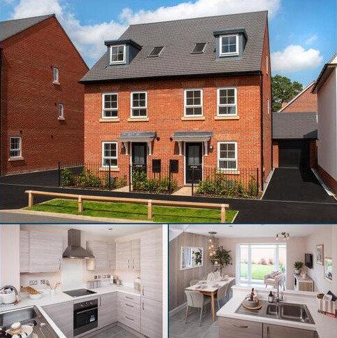 4 bedroom semi-detached house for sale - Plot 202, ROCHESTER at Highfields, Rykneld Road, Littleover, DERBY DE23