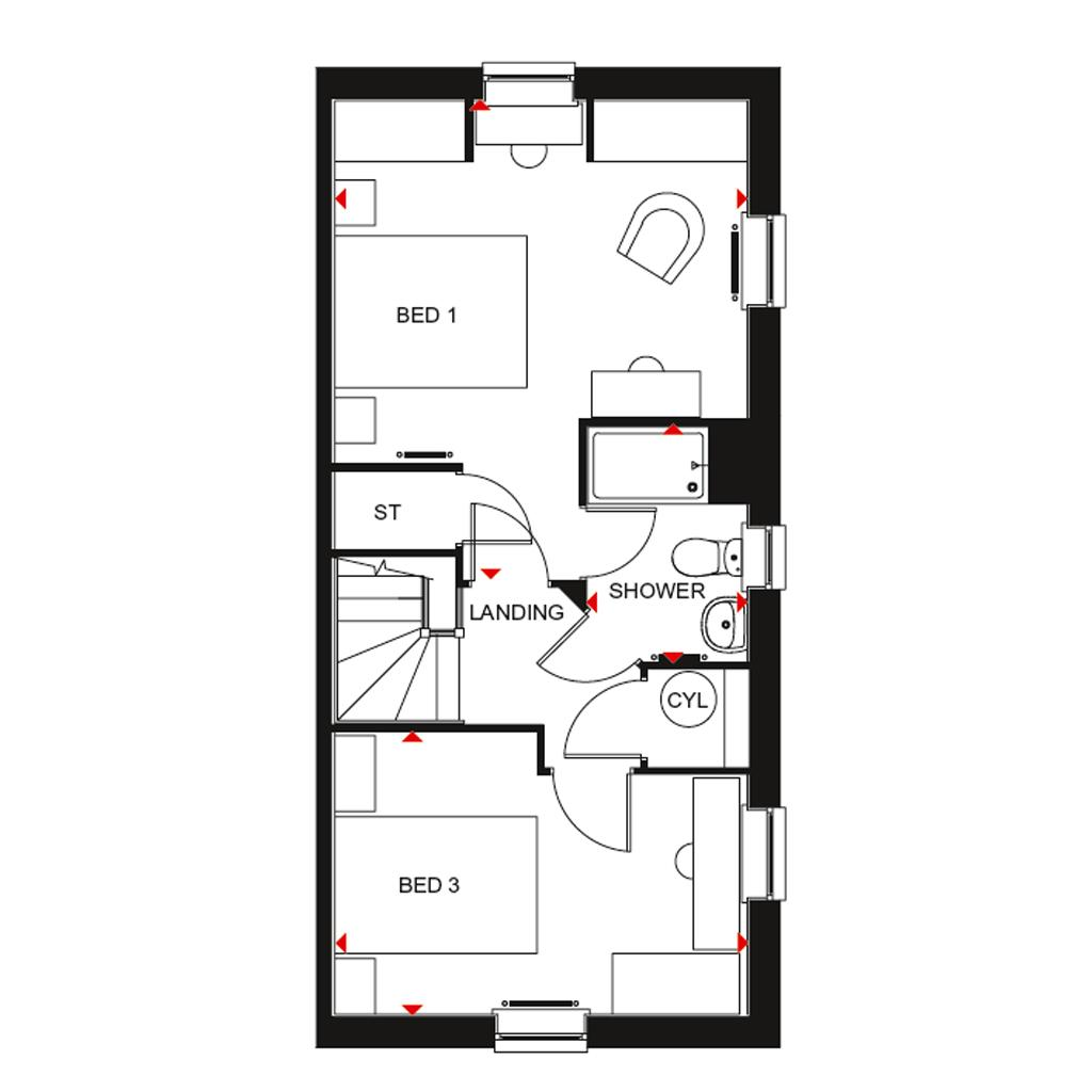 Floorplan 3 of 3: H7061 bbnfsf