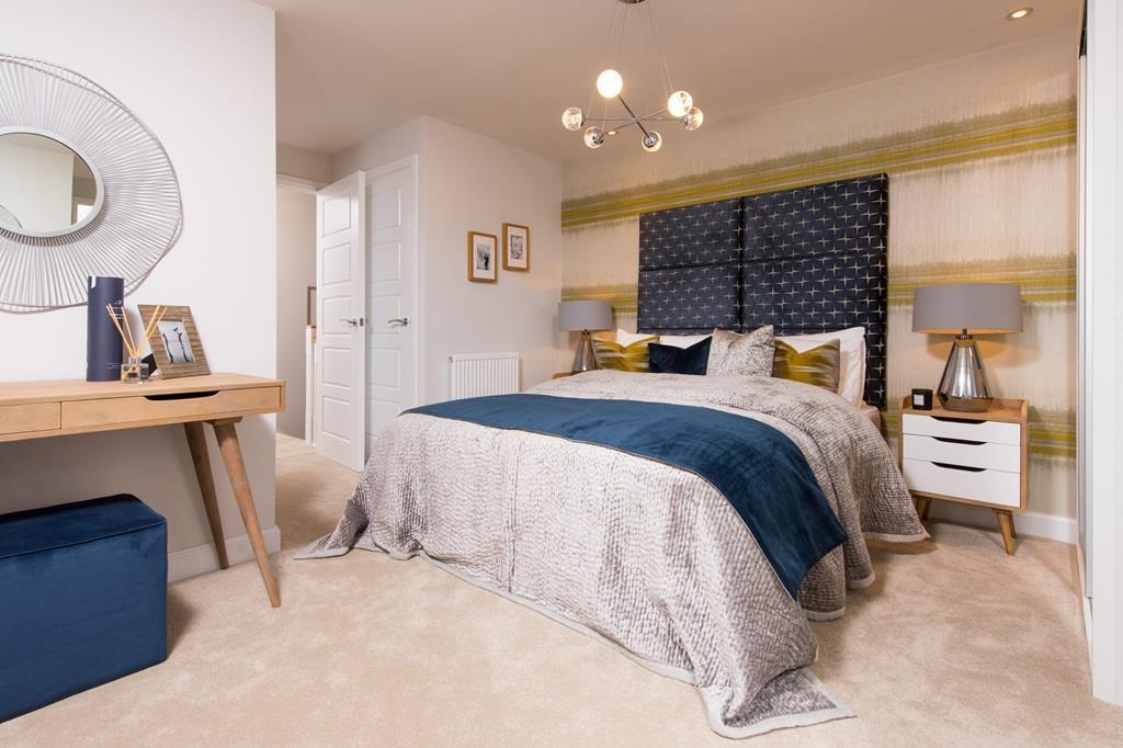 Brentford master bedroom