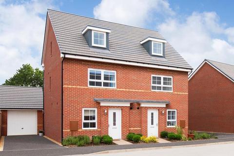 4 bedroom end of terrace house for sale - Plot 213, KINGSVILLE at Barratt Homes @Mickleover, Etwall Road, Mickleover, DERBY DE3