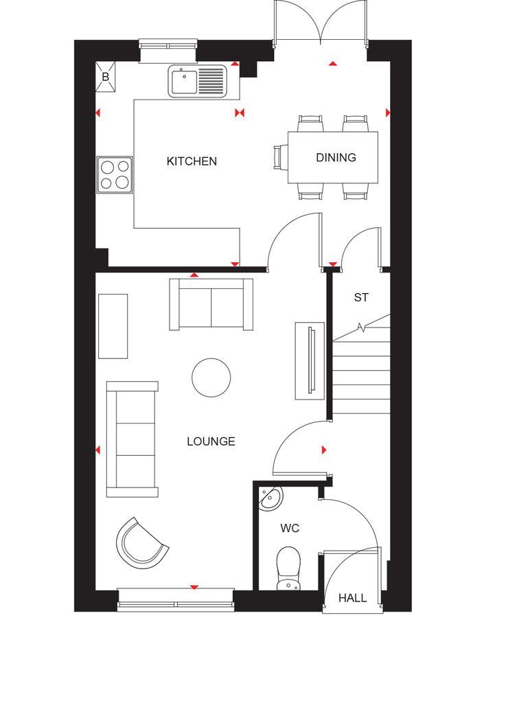Floorplan 1 of 2: Maidstone ground floor