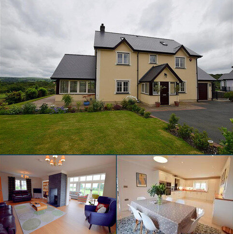 4 bedroom detached house for sale - Aberbanc