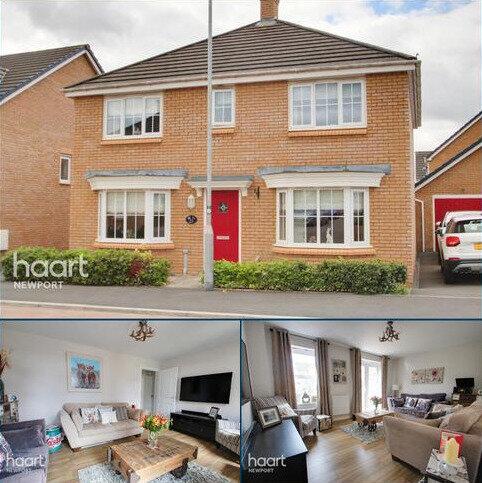 4 bedroom detached house for sale - Heol Senni, Newport