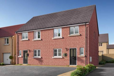 3 bedroom semi-detached house for sale - Plot 161, The Eveleigh at Wilberforce Park, 79 Amos Drive, Pocklington YO42