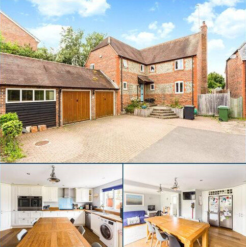 4 bedroom detached house for sale - The Waldrons, East Garston, Hungerford, RG17