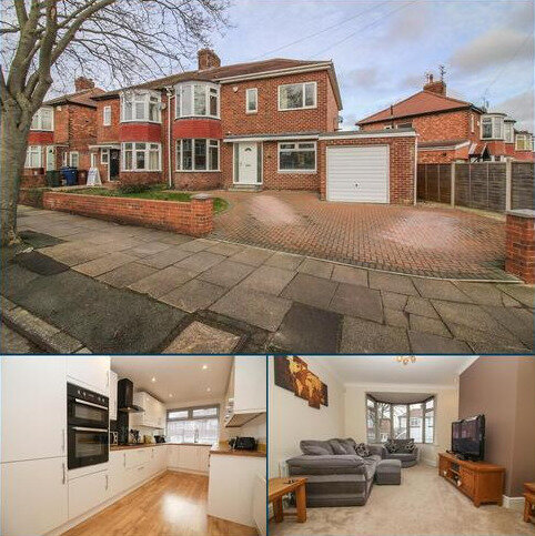 5 bedroom semi-detached house for sale - Park Avenue, Gosforth, Newcastle Upon Tyne