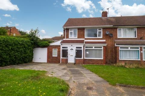 3 bedroom semi-detached house for sale - Rhondda Avenue, Roseworth, Stockton-on-Tees, Cleveland, TS19 9DB