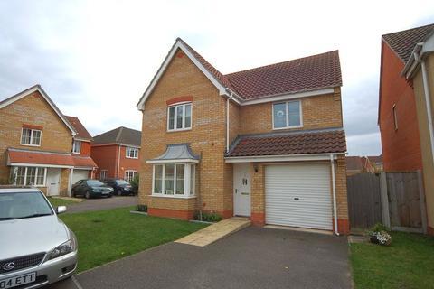 3 bedroom detached house to rent - Linden Walk, Beck Row, Bury St. Edmunds, Suffolk, IP28