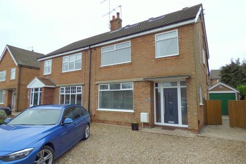 4 bedroom semi-detached house for sale - Manor Road, Beverley, East Riding of Yorkshire, HU17 7AR