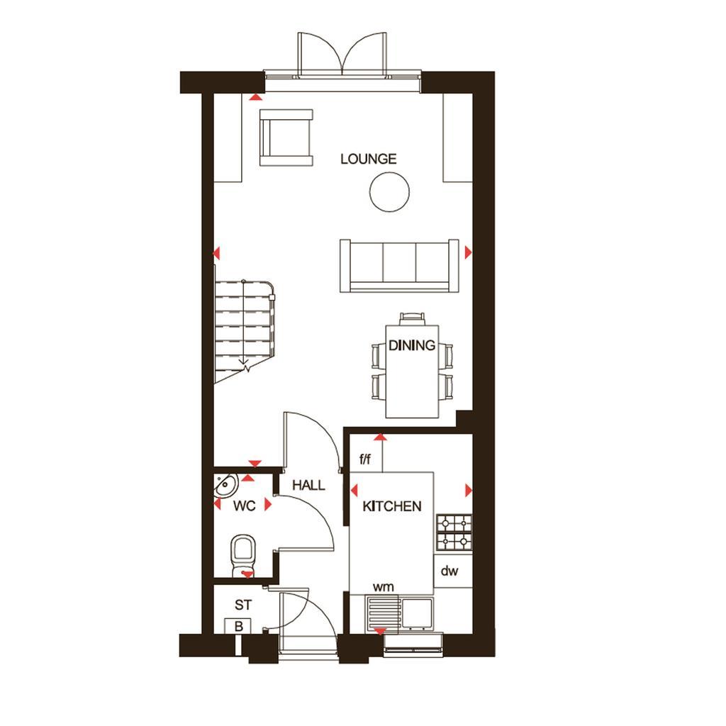 Floorplan 1 of 2: Richmond GF Floor plan H763701