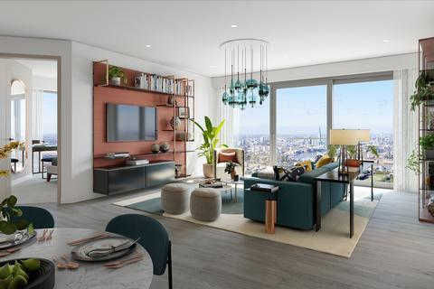 3 bedroom flat for sale - 43.1 Aspen, Marsh Wall, London, E14