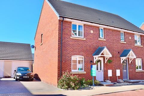3 bedroom semi-detached house for sale - 2 Maes Yr Ysgall, Parc Derwen, Bridgend, Bridgend County Borough, CF35 6FF