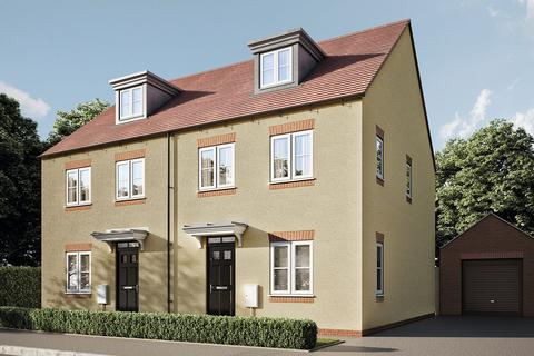 4 bedroom semi-detached house for sale - Plot 152A, The Aslin at Hawkswood, Pioneer Way, Kingsmere, Bicester, Oxfordshire OX26