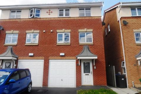3 bedroom townhouse for sale - Rushmore Drive, Upton Rocks, Widnes