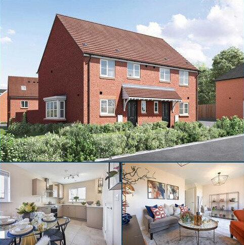 3 bedroom semi-detached house for sale - Plot 302, The Eveleigh at Blue Mountain, Wood Lane, Binfield, Berkshire RG42